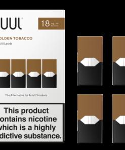 golden tobacco juul pods